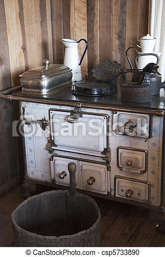 Vintage-Küche - csp5733890