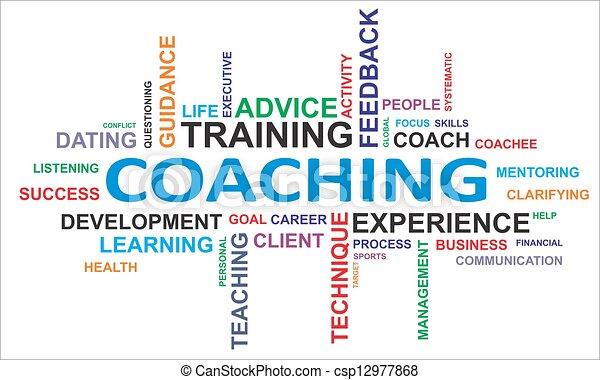 Wortwolke - Coaching - csp12977868