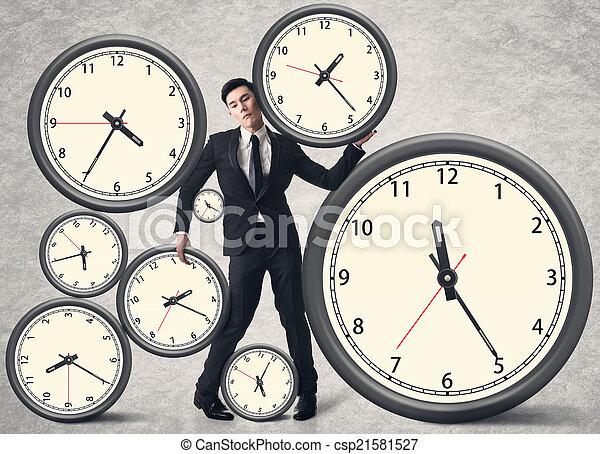 Zeitdruckkonzept. - csp21581527